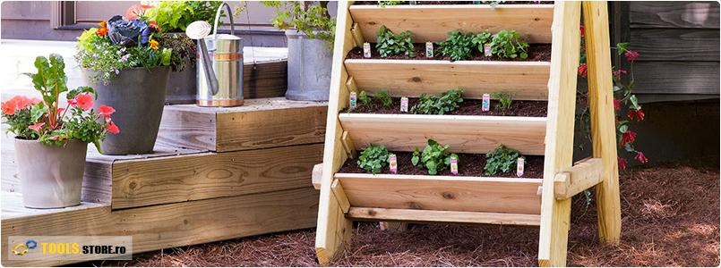 Proiect DIY: Cum sa construiesti o gradina suspendata